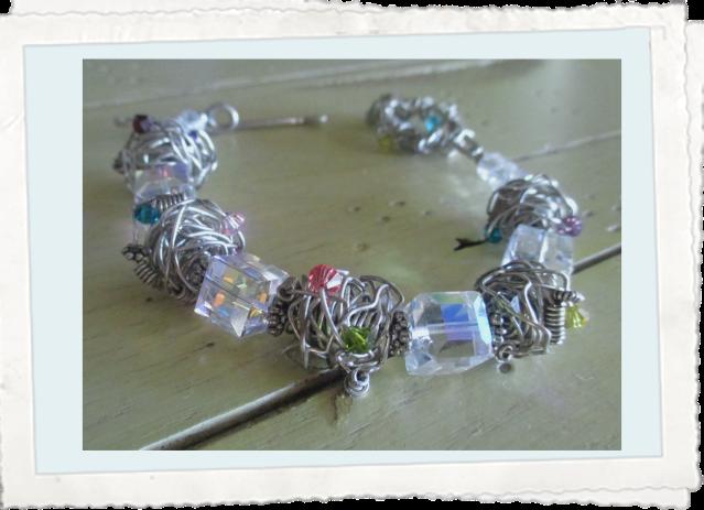 Cube Crystal Bracelet